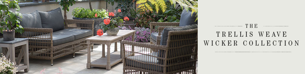 The Trellis Weave Wicker Collection