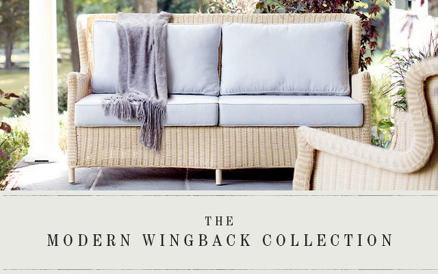 The Modern Wingback Collection