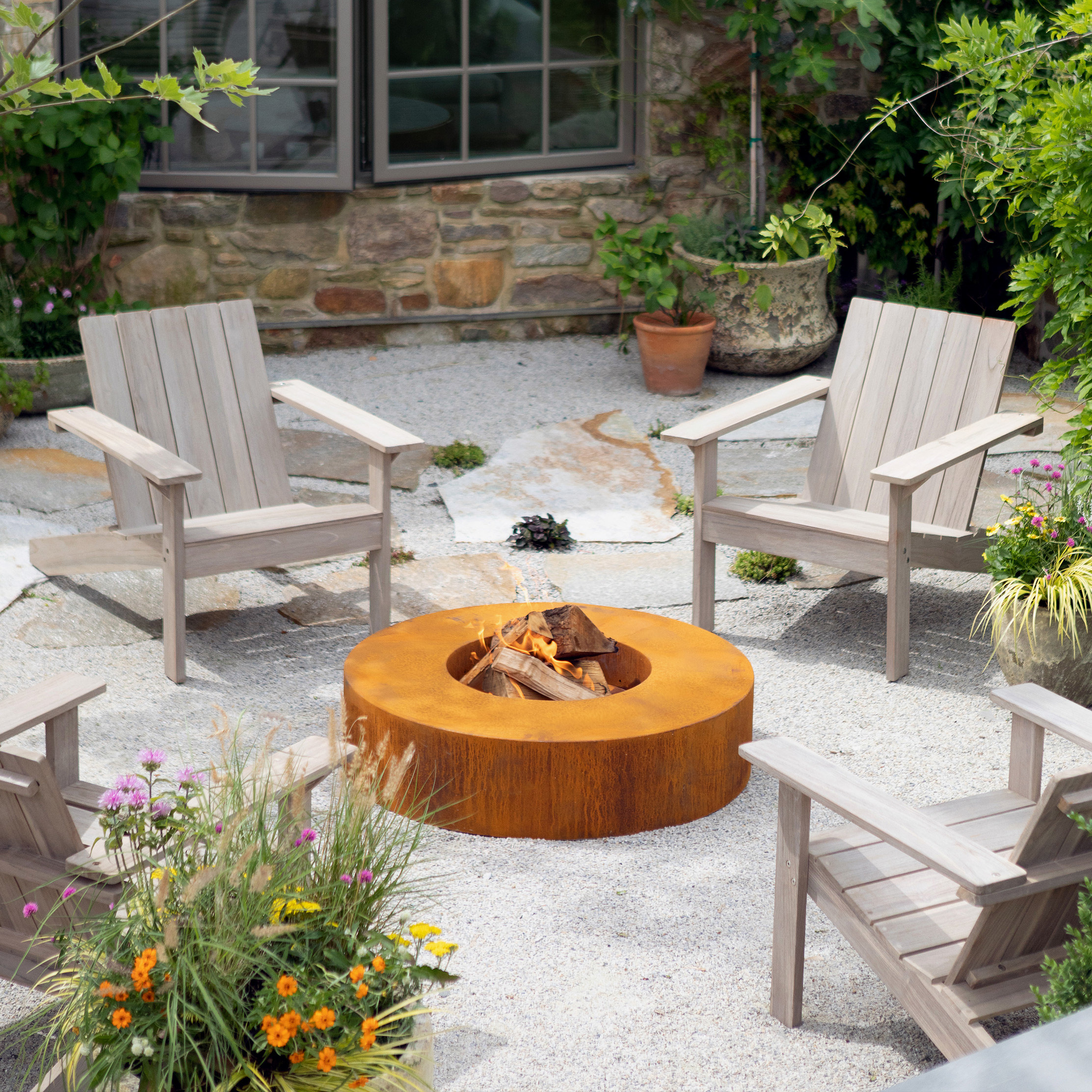 Fire Pit Facts: What to Know About COR-TEN Steel