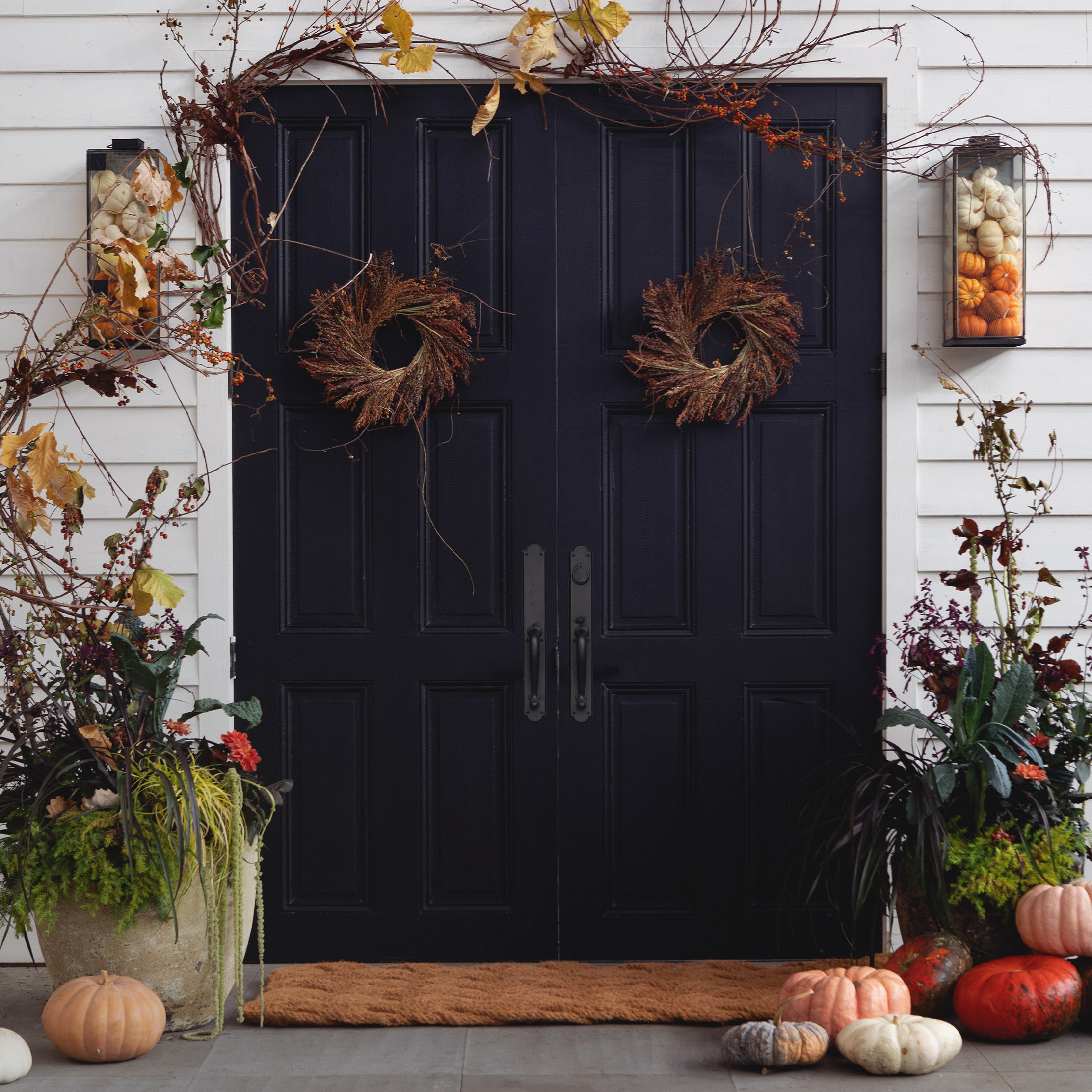 The Terrain Halloween Doorstep with our Creative Stylist