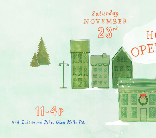 The Annual Holiday Open House | Glen Mills, PA