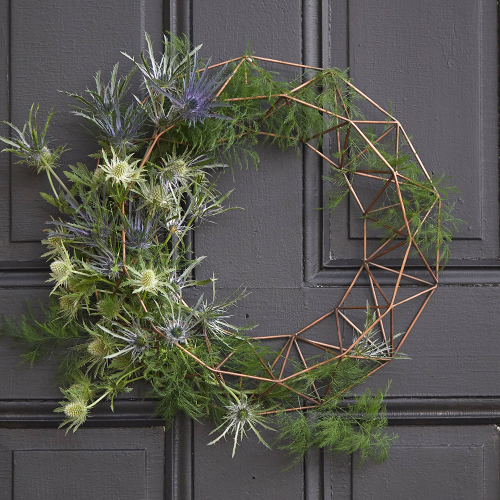 Our Creative Stylist Shares How To Design Your Own Wreath with Our Fillable Form