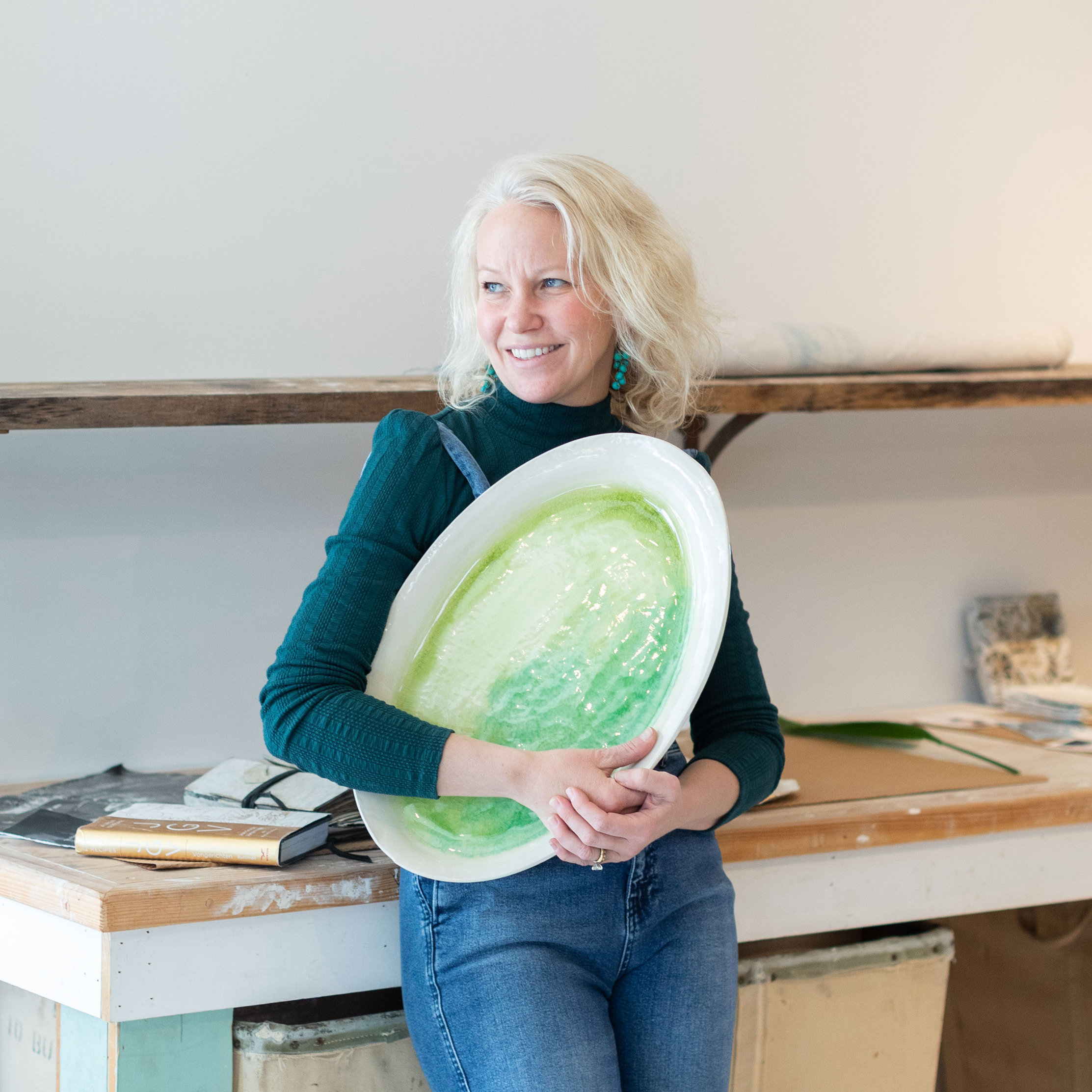 A Studio Visit with Source and Tradition