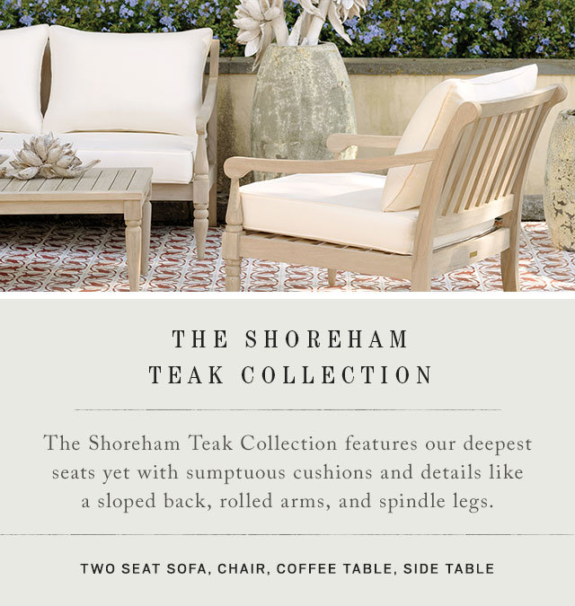 The Shoreham Teak Collection