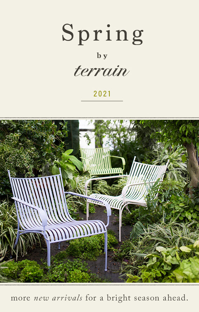 Spring by Terrain 2021 | more new arrivals for a bright season ahead.